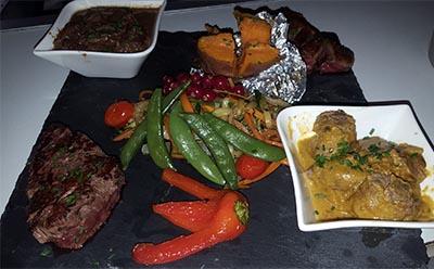 Assiette du trappeur, Dakota Mourillon, Restaurant Toulon