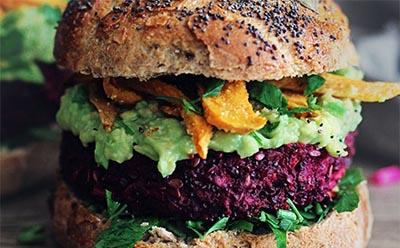 Burger vegan, saloon, Toulon,