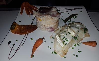 Filet de saint pierre, le Dakota Mourillon, restaurant Toulon