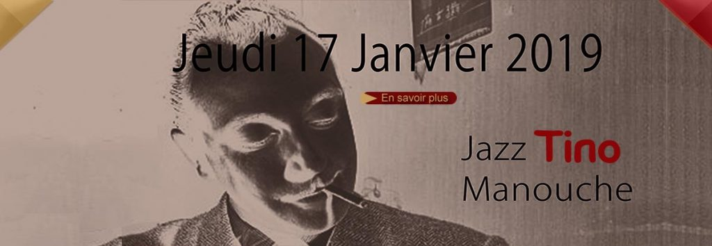 Jazz manouche en janvier au Dakota Mourillon, restaurant musical à Toulon