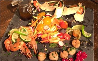 Salade de la mer restaurant saloon, Toulon