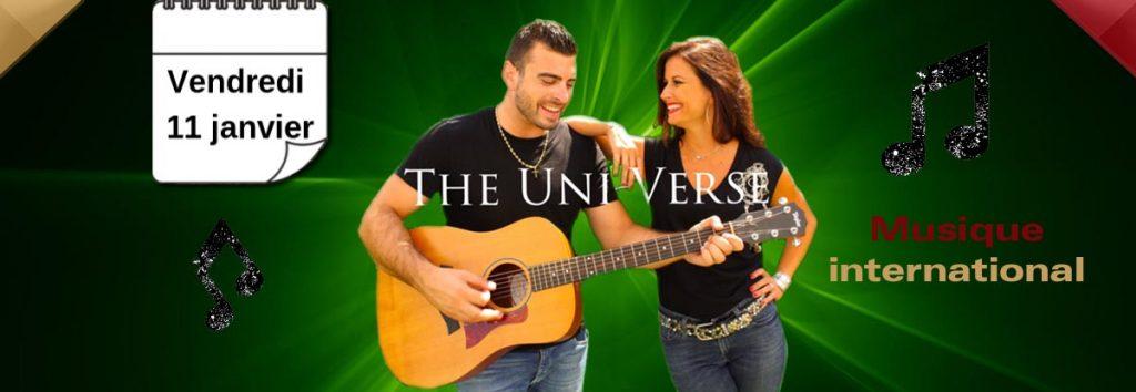 The Uni-verse en concert à Toulon en janvier au Dakota Mourillon, restaurant musical