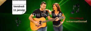 The Uni-verse, duo musical en concert au Dakota Mourillon en janvier
