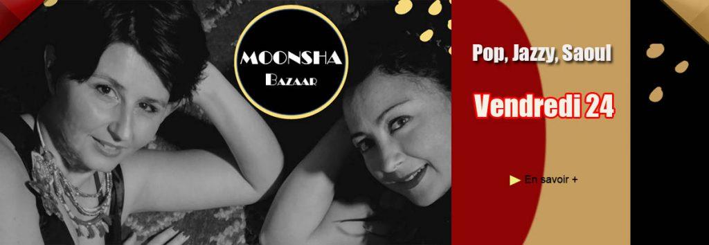 Moonsha Bazaar en mai au Dakota Mourillon, restaurant à Toulon