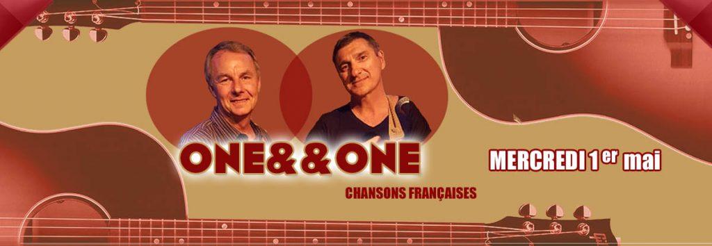 One&one en mai au Dakota Mourillon, restaurant à Toulon
