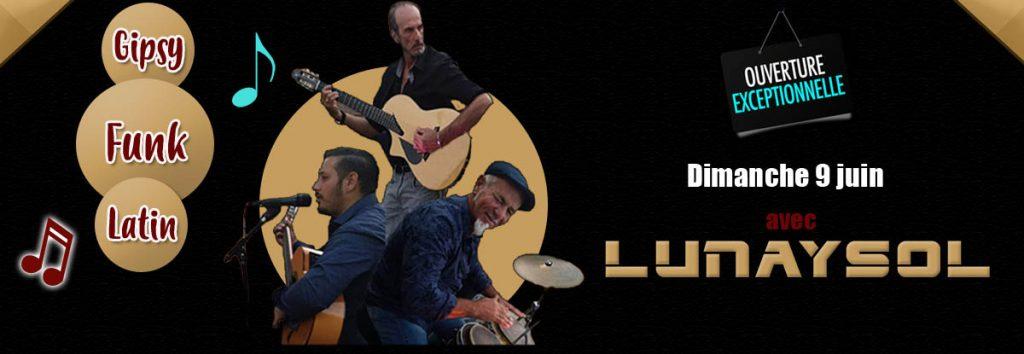 Lunaysol au Dakota le dimanche 9 juin pour une ouverture exceptionnelle
