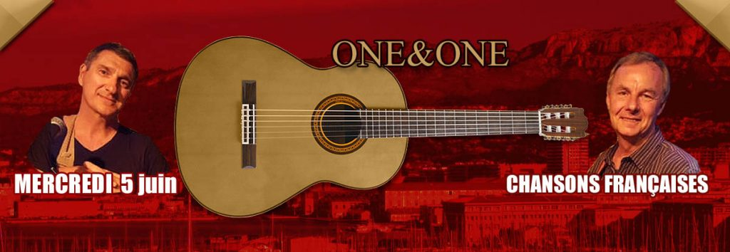 One and One au resto à Toulon le 5 juin 2019