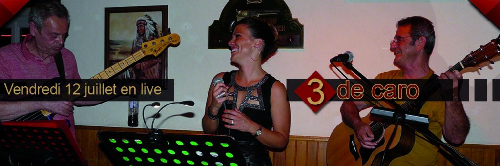 restaurant concert Toulon : 3 de caro