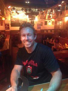 Jonny Wilkinson au Dakota, bar concert à Toulon