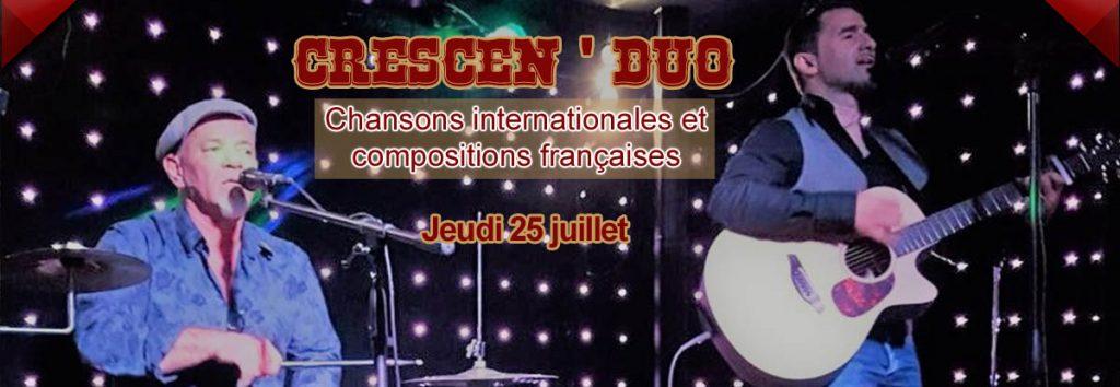 Restaurant concert Toulon : Crescenduo