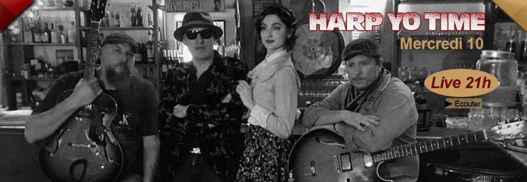Restaurant concert à Toulon : Harp Yo Time