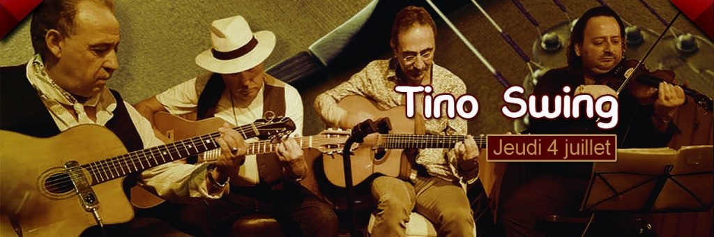 Restaurant concert Toulon : Tino swing, jazz manouche