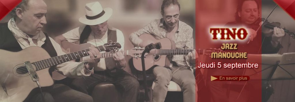 Restaurant Toulon : Concert Jazz manouche