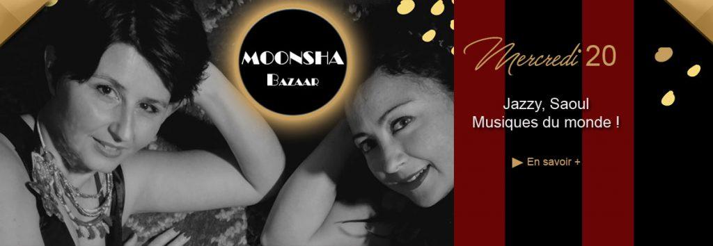 Moonsha Bazaar en concert en septembre au Dakota Mourillon, restaurant musical à Toulon