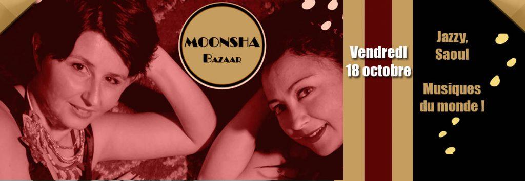 Moonsha Bazaar en concert en octobre au Dakota Mourillon, restaurant à Toulon