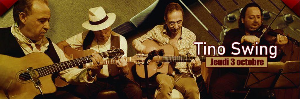 Le restaurant Dakota Mourillon accueille Tino et son groupe de jazz Manouche le 3 octobre