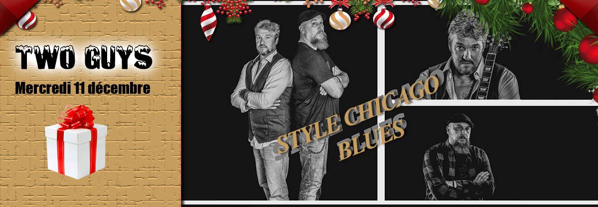 Two guys en concert au restaurant à Toulon le 11 décembre