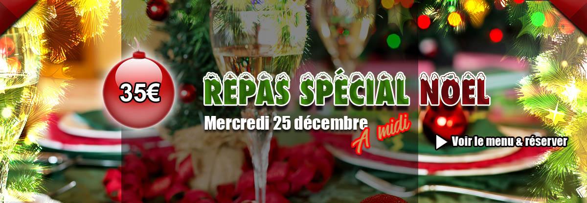 Repas de noël 2019, restaurant à Toulon