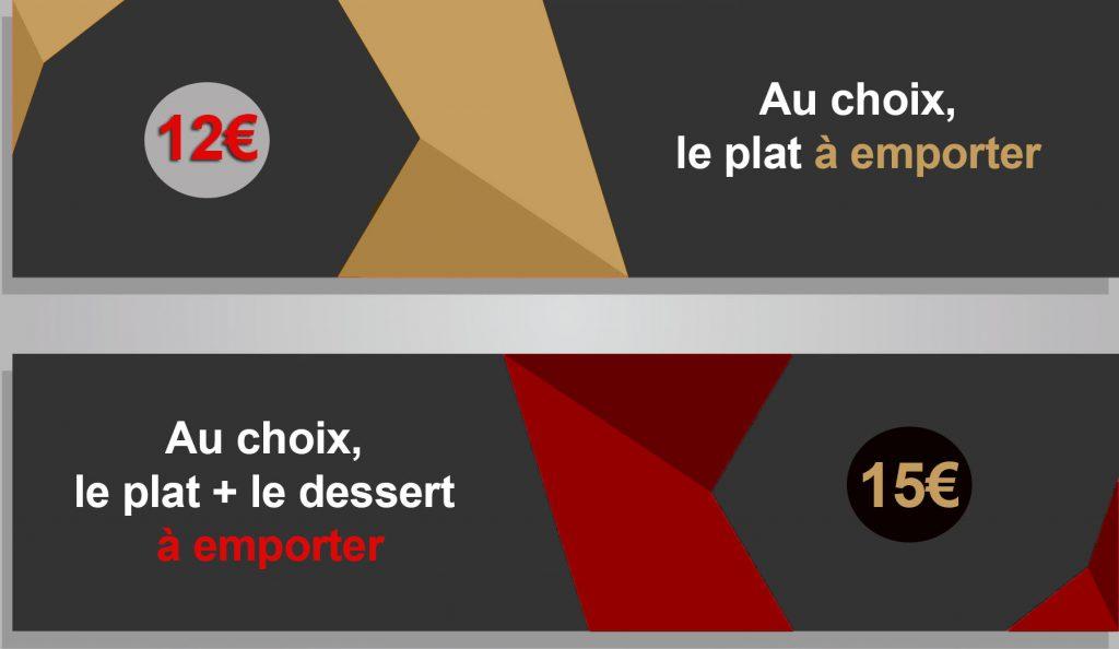 Plats à emporter restaurant à Toulon